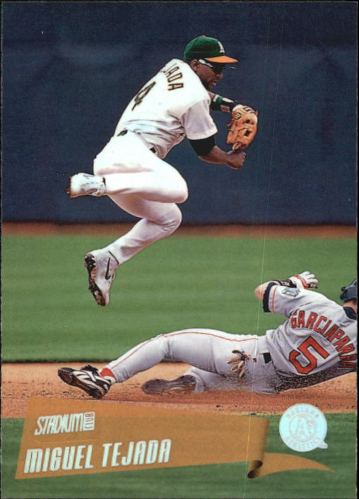2000 Stadium Club #80 Miguel Tejada