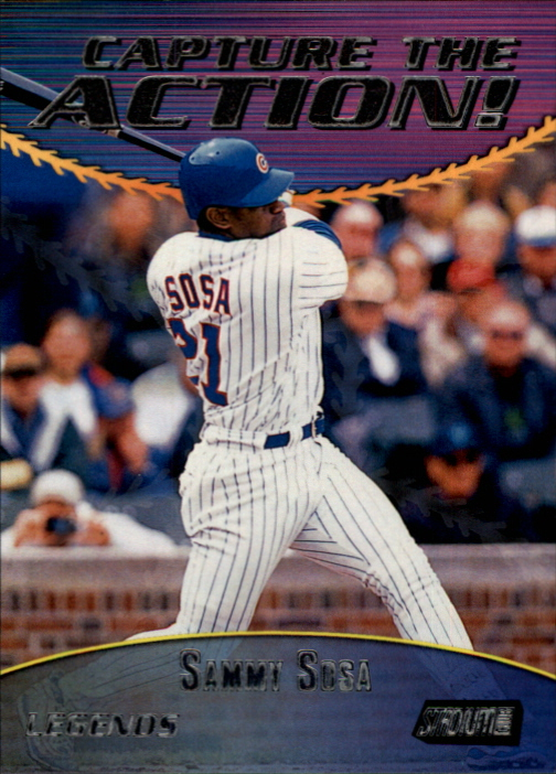 2000 Stadium Club Capture the Action #CA13 Sammy Sosa