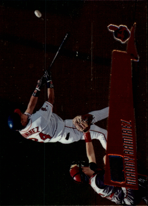 2000 Stadium Club Chrome Preview #SCC6 Manny Ramirez