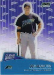 2000 Stadium Club Chrome Clear Shots #CS10 Josh Hamilton