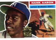 2000 Topps Aaron #3 Hank Aaron 1956