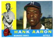 2000 Topps Aaron #7 Hank Aaron 1960