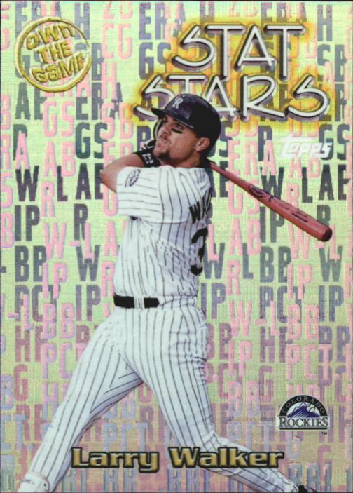 2000 Topps Own the Game #OTG13 Larry Walker