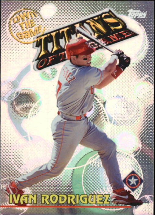 2000 Topps Own the Game #OTG23 Ivan Rodriguez
