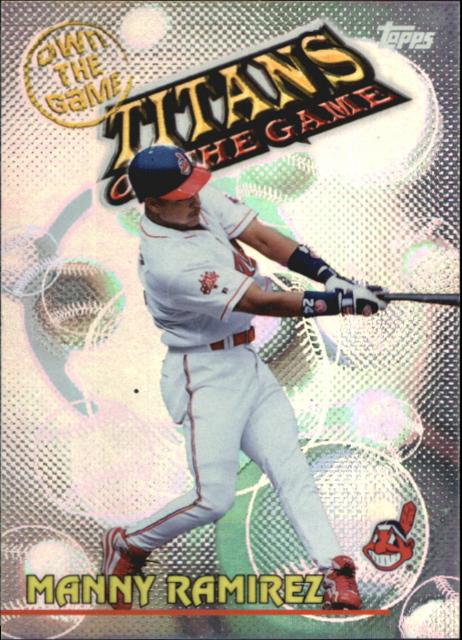 2000 Topps Own the Game #OTG30 Manny Ramirez