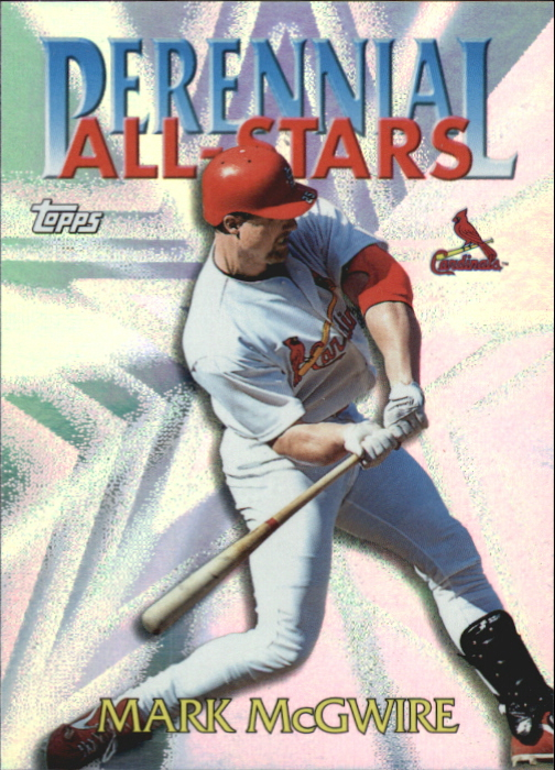 2000 Topps Perennial All-Stars #PA10 Mark McGwire