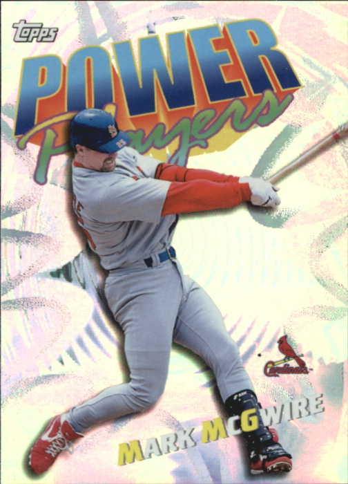 2000 Topps Power Players #P3 Mark McGwire