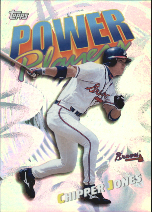 2000 Topps Power Players #P15 Chipper Jones