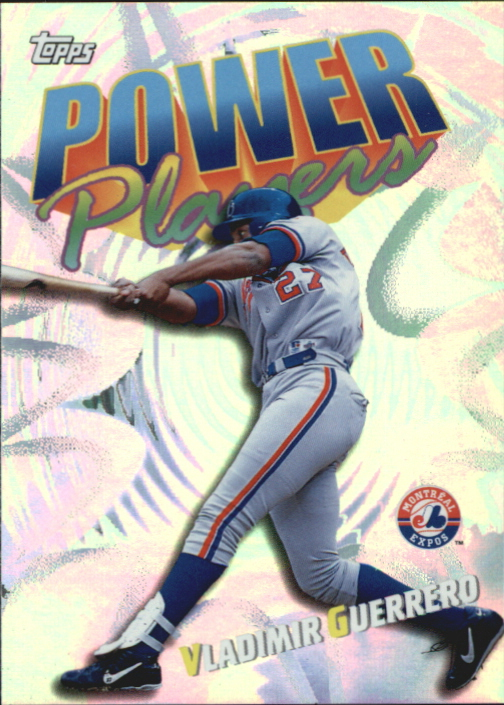 2000 Topps Power Players #P17 Vladimir Guerrero