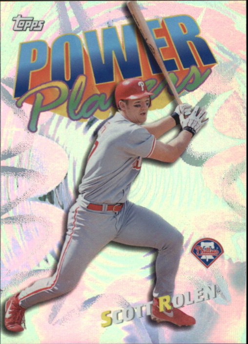 2000 Topps Power Players #P18 Scott Rolen