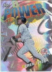 2000 Topps Power Players #P20 Derek Jeter
