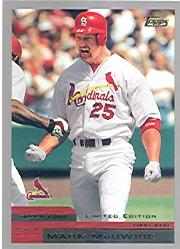 2000 Topps Limited #1 Mark McGwire
