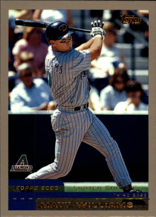2000 Topps Limited #5 Matt Williams
