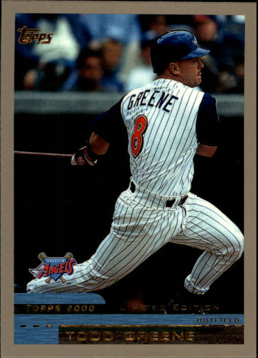 2000 Topps Limited #9 Todd Greene