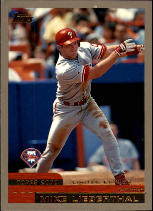 2000 Topps Limited #10 Mike Lieberthal