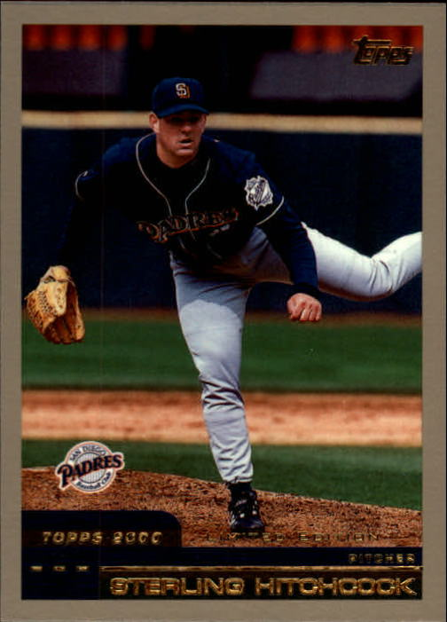 2000 Topps Limited #24 Sterling Hitchcock