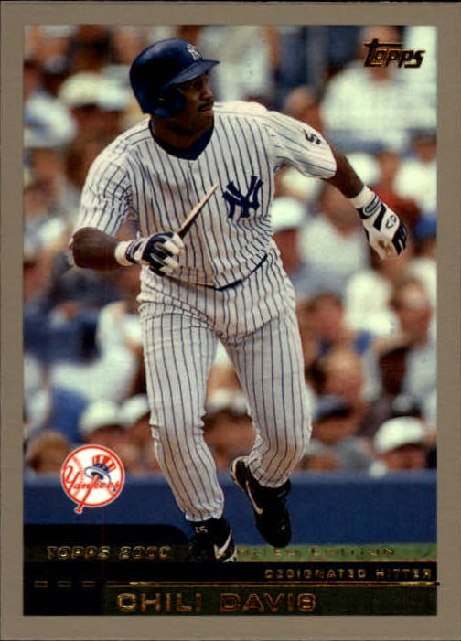 2000 Topps Limited #42 Chili Davis