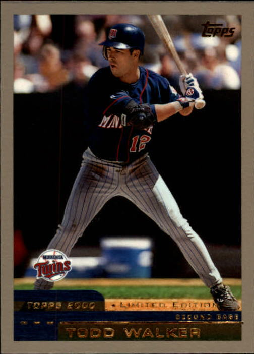 2000 Topps Limited #57 Todd Walker