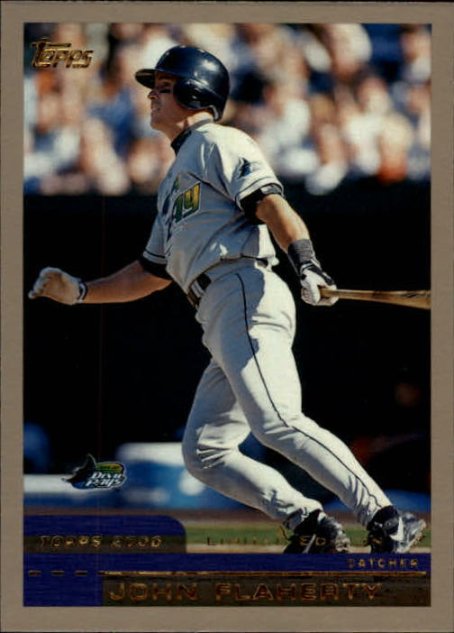 2000 Topps Limited #75 John Flaherty