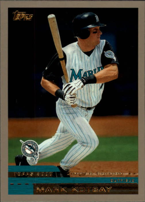 2000 Topps Limited #90 Mark Kotsay