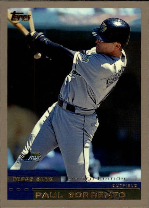 2000 Topps Limited #91 Paul Sorrento