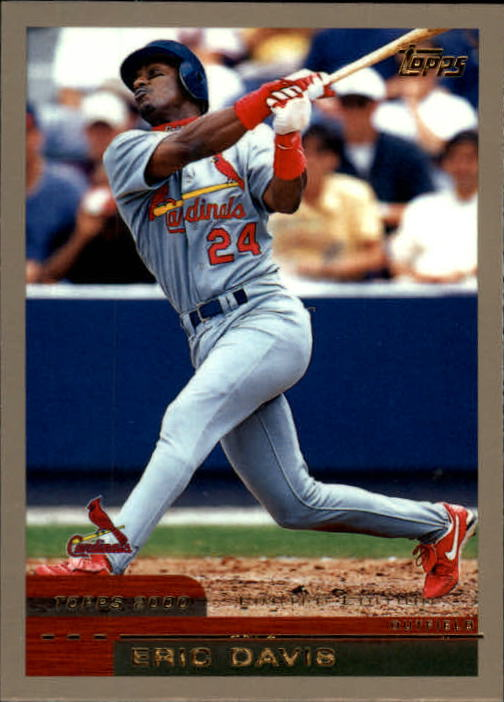 2000 Topps Limited #190 Eric Davis