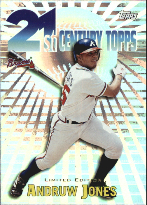 2000 Topps Limited 21st Century #C8 Andruw Jones