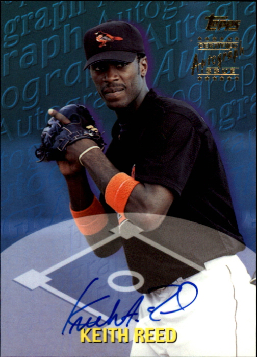 2000 Topps Traded Autographs #TTA55 Keith Reed