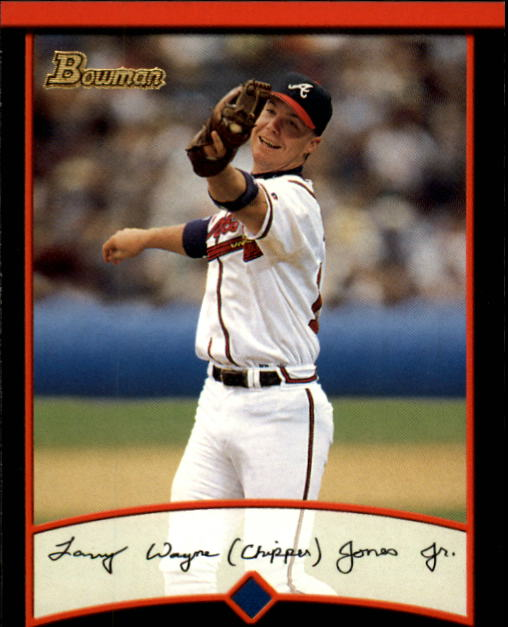 2001 Bowman #50 Chipper Jones