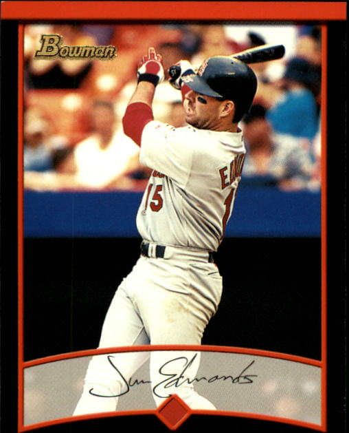 2001 Bowman #70 Jim Edmonds