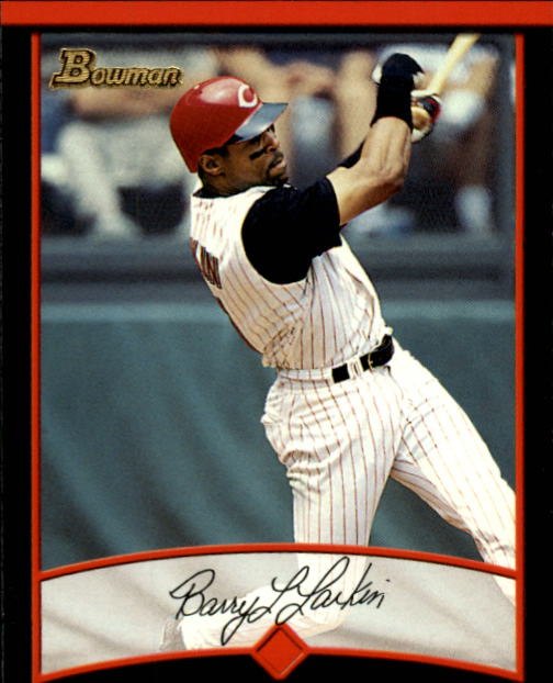 2001 Bowman #87 Barry Larkin