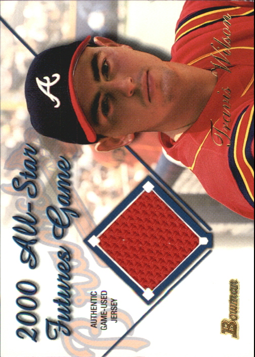 2001 Bowman Futures Game Relics #FGRTW Travis Wilson A