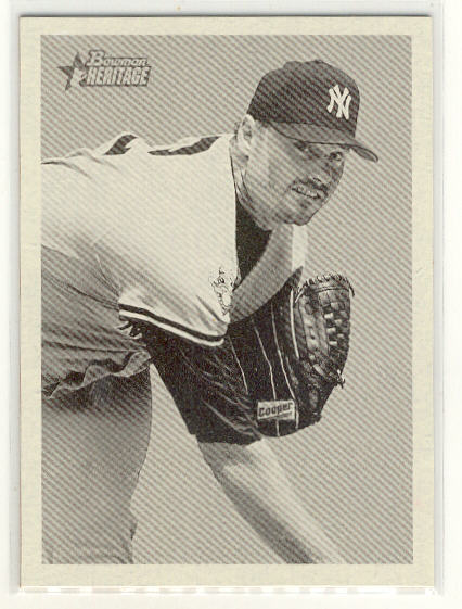 2001 Bowman Heritage #14 Roger Clemens