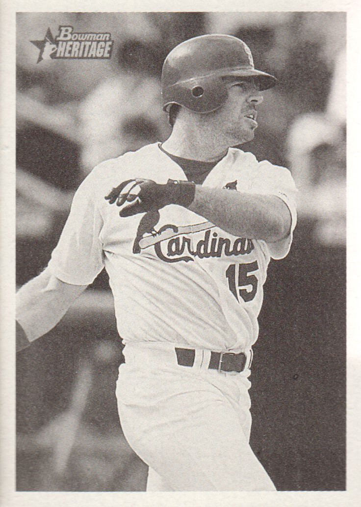 2001 Bowman Heritage #17 Jim Edmonds
