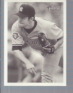 2001 Bowman Heritage #26 Mike Mussina