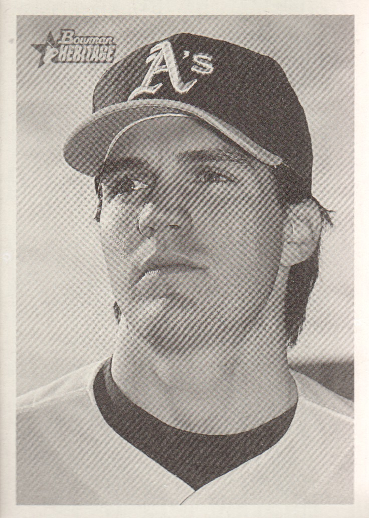 2001 Bowman Heritage #55 Barry Zito