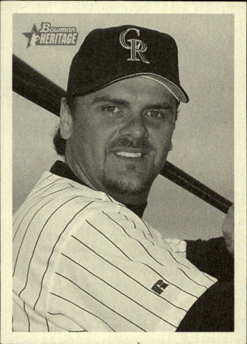 2001 Bowman Heritage #67 Larry Walker