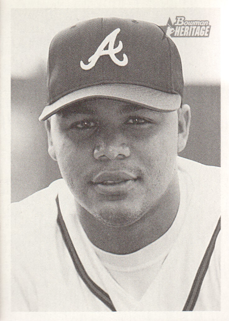 2001 Bowman Heritage #96 Andruw Jones