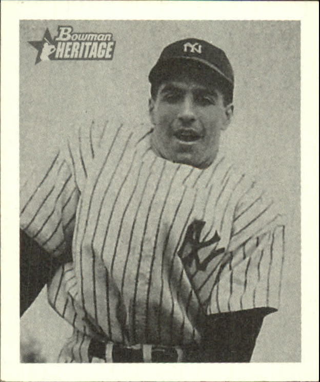2001 Bowman Heritage 1948 Reprints #5 Phil Rizzuto front image