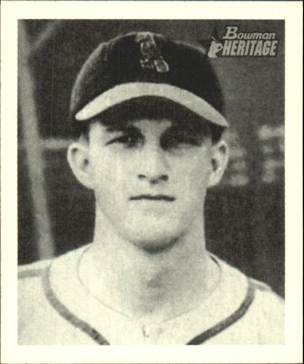 2001 Bowman Heritage 1948 Reprints #8 Stan Musial