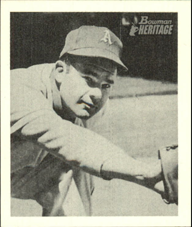 2001 Bowman Heritage 1948 Reprints #10 Ferris Fain