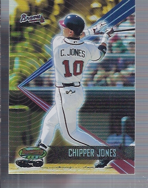 2001 Bowman's Best #8 Chipper Jones