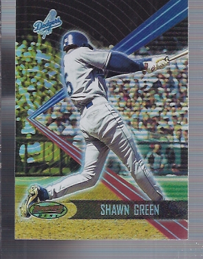 2001 Bowman's Best #37 Shawn Green