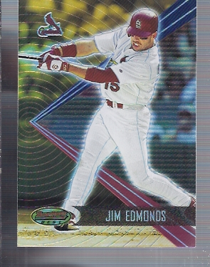2001 Bowman's Best #40 Jim Edmonds