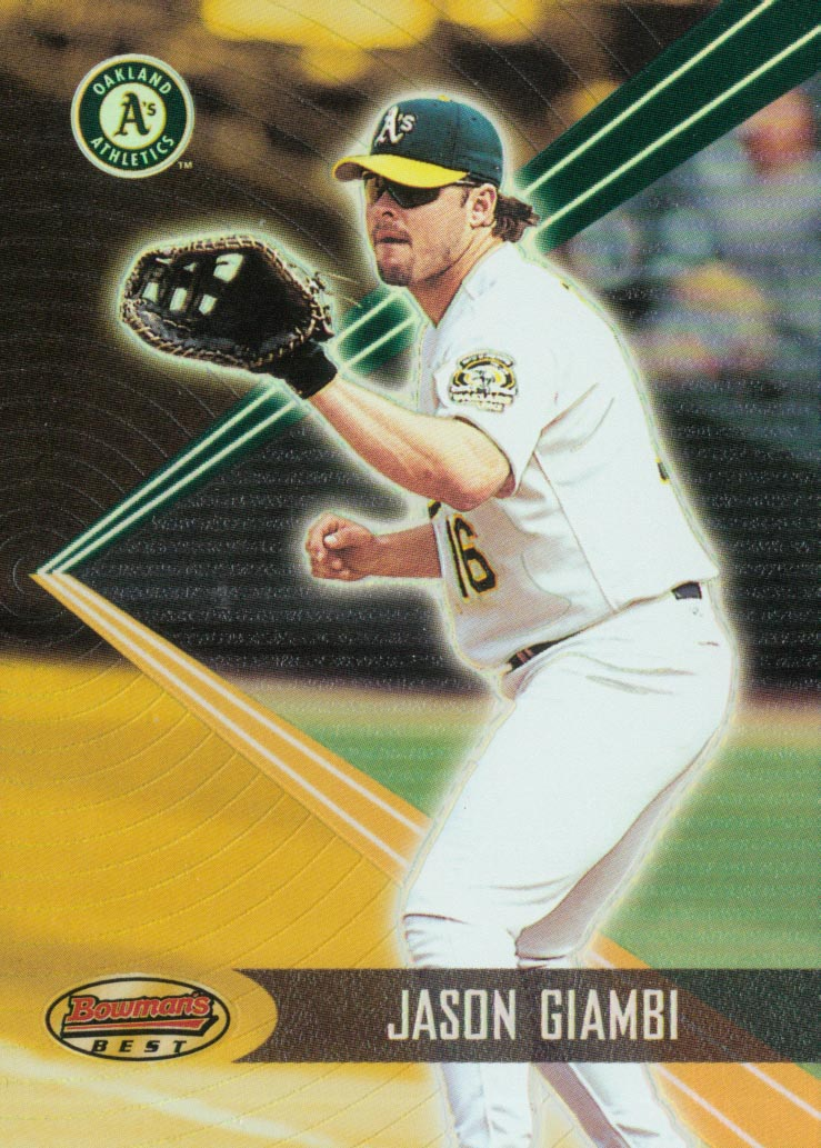 2001 Bowman's Best #55 Jason Giambi