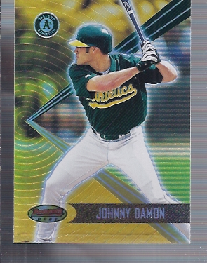 2001 Bowman's Best #67 Johnny Damon