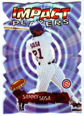 2001 Bowman's Best Impact Players #IP2 Sammy Sosa