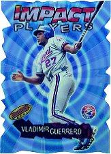 2001 Bowman's Best Impact Players #IP7 Vladimir Guerrero