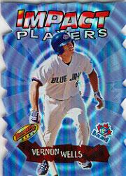 2001 Bowman's Best Impact Players #IP11 Vernon Wells