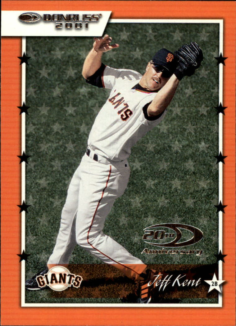 2001 Donruss #43 Jeff Kent